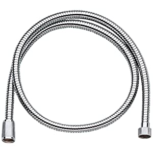 GROHE 28143000 Relexa Longlife Metallic Hose, Starlight Chrome