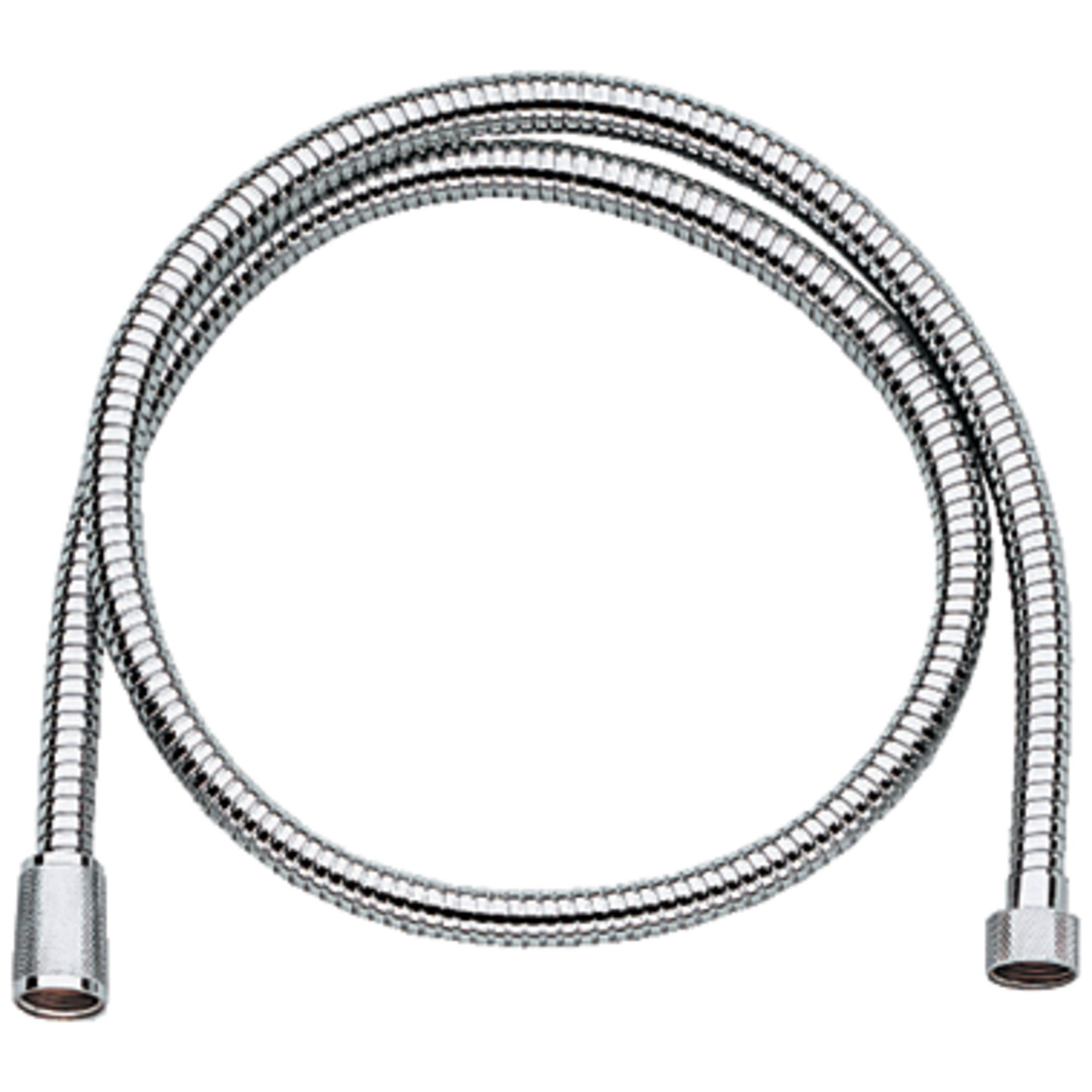 GROHE 28143000 Relexa Longlife Metallic Hose, Starlight Chrome