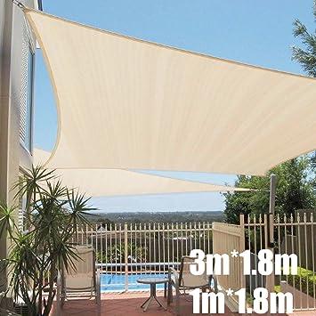 HDPE Beschattung Rechteck Sonnenschutz UV-Schutz Sonnensegel