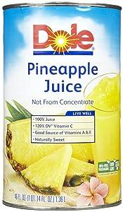 Dole 100% Pineapple Juice - 46 oz