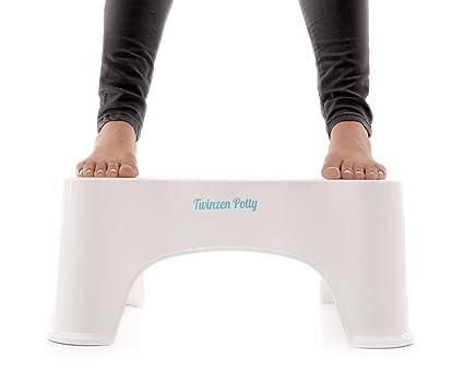 Twinzen potty sgabello fisiologico per wc u2013 adotta una migliore