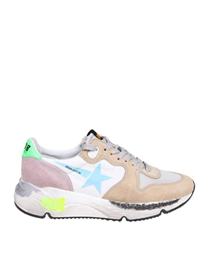 GOLDEN GOOSE G34WS963B6 Mujer Cuero Zapatillas: Amazon.es: Zapatos y complementos