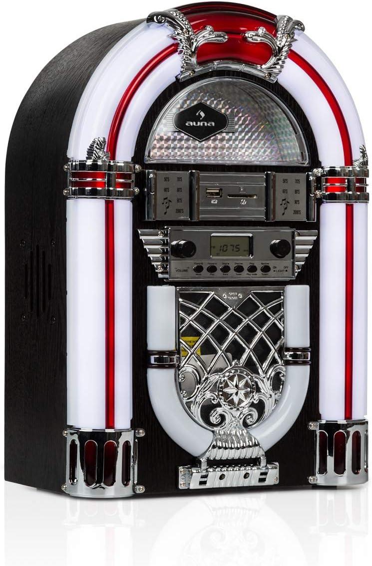 auna Arizona Jukebox Wood Edition