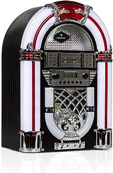 auna Arizona Jukebox Wood Edition - Equipo estéreo