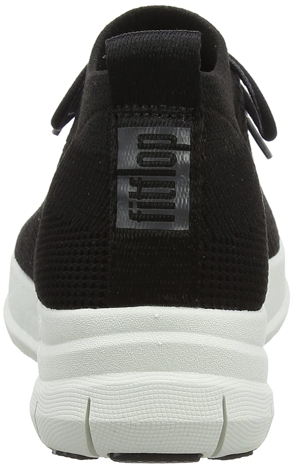 FitFlop Uberknit Woman Uberknit FitFlop Sneaker Black/White Nero (Black 001) b5dfd7