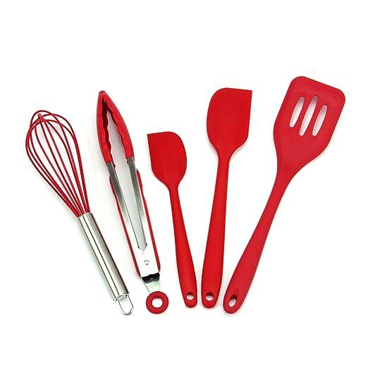 WZFC Chef Buddy 5 Piezas de Cocina Juego de Herramientas de Acero ...