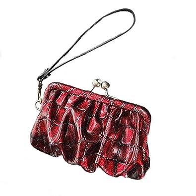 2599be7723 Simply Vera Vera Wang Pleated Crocodile Wristlet  Handbags  Amazon.com