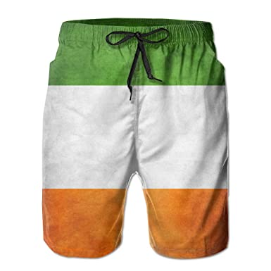 Ireland Flag Men Swimsuit
