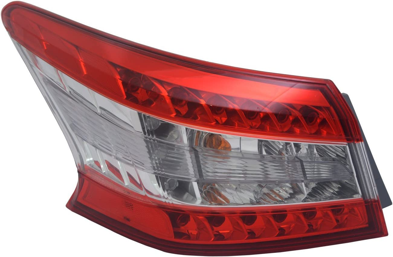 TYC 11-6387-00-1 Nissan Sentra Right Replacement Tail Lamp