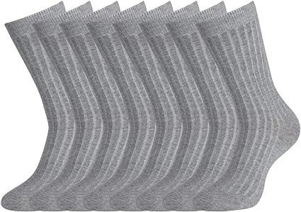 5Pairs Mens Womens Socks Three Quarter Cushion Foot Sport Sock Cotton Rich 11-14