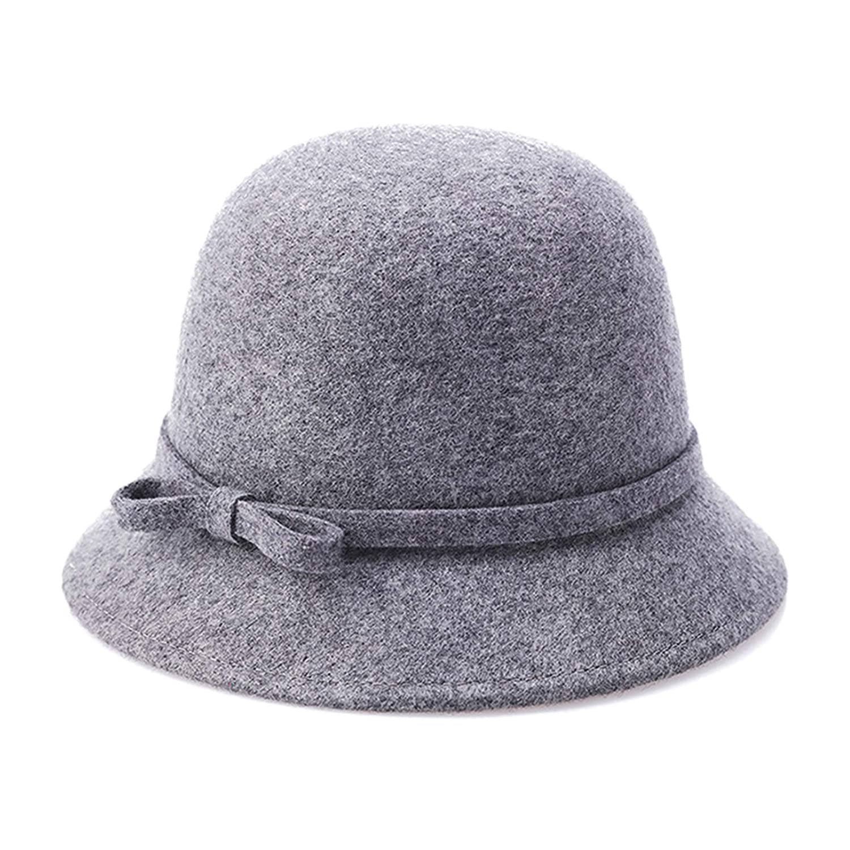 lkklily-pure Wolle Boucle Stoff Dome Europa Bucket Hat Hü te Damen Mü tze Fisherman Hat Fashion Hü te fü r die Hochzeit Rede khaki Rococogifts