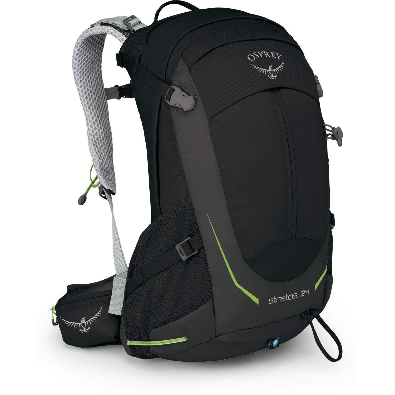 Osprey Packs Stratos 24 Hiking Backpack, Black, o/s, One Size