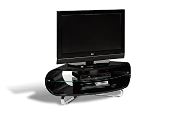 Techlink Ovid OVC100B TV-Möbel (Eckschrank, UK-Import), Schwarz ...