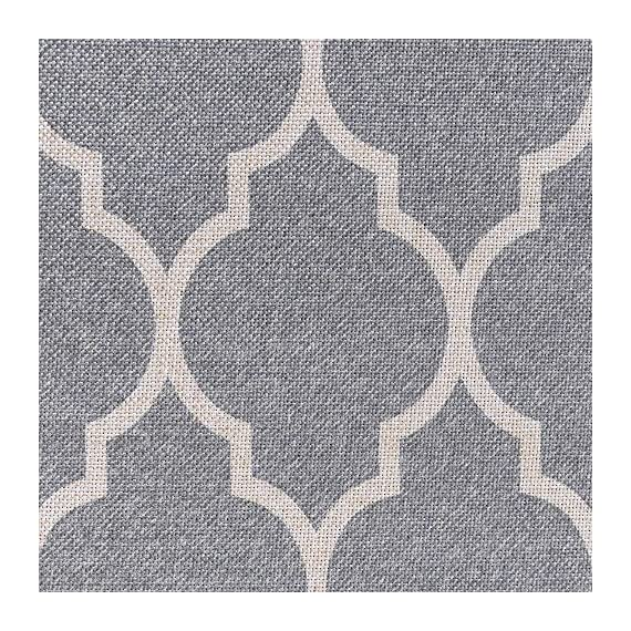 "jinchan Door Mat Area Rug Moroccan Tile Low Pile Trellis Floorcover Indoor Carpet for Living Room Soft Grey 2'x 3'3"" - Premium Quality: Made of 100% polypropylene. Nice and tight weave makes the rug soft but firm. Great for indoor/outdoor use. Size:2'x 3'3"", Color: Soft Grey on Off White. Trellis design. Stay Put: Great coordination with living room, dining room, hall way, nursery or wherever you need it. Non-slip backing helps the rug stays in place well. Easy Cleaning: Dust and dirt on surface can be removed easily. Please try to hand wash or wipe clean with a cloth. - living-room-soft-furnishings, living-room, area-rugs - 71eCFAB6KnL. SS570  -"