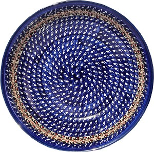 Polish Pottery Bowl 10""