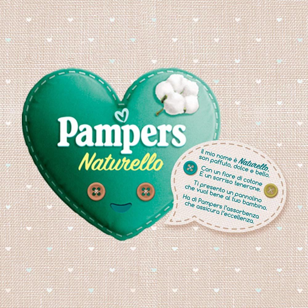 7-18 kg 19 Pannolini Pampers Naturello Maxi Taglia 4