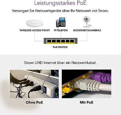 Netgear Gs524pp Switch 24 Port Gigabit Ethernet Lan Poe Computer Zubehör