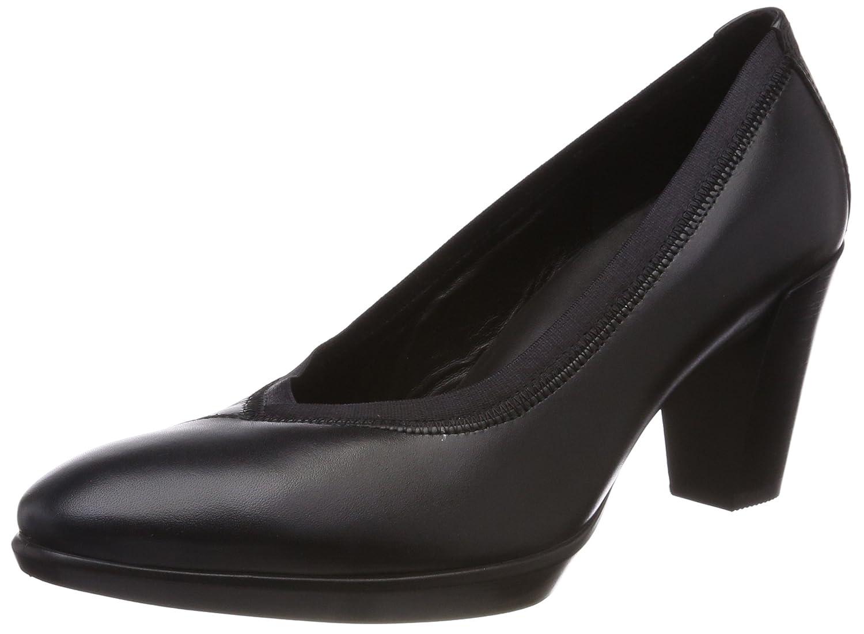 TALLA 39 EU. ECCO Shape 55 Plateau Stack, Zapatos de Tacón para Mujer