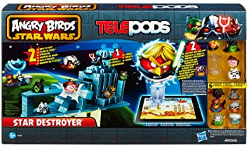 Angry Birds Star Wars Toys : Star wars angry birds star destroyer amazon toys games