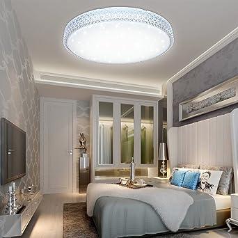VGO® 50W LED Kristall Deckenleuchte Kaltweiß Starlight Deckenbeleuchtung  Wohnzimmer Sternenhimmel Deckenlampe Korridor Schlafzimmer Schönes Mordern  ...