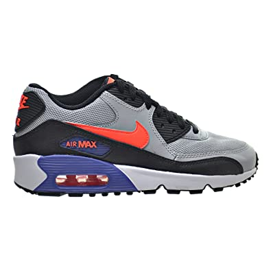 ed6947a6ed9324 Nike Air Max 90 Mesh(GS) Big Kids Shoes Wolf Grey Crimson