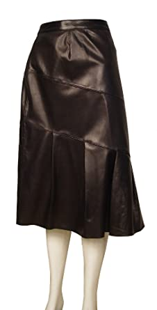 Paccilo Big Women Tall 3010 PLUS & ALL SIZE Leather Skirt at ...