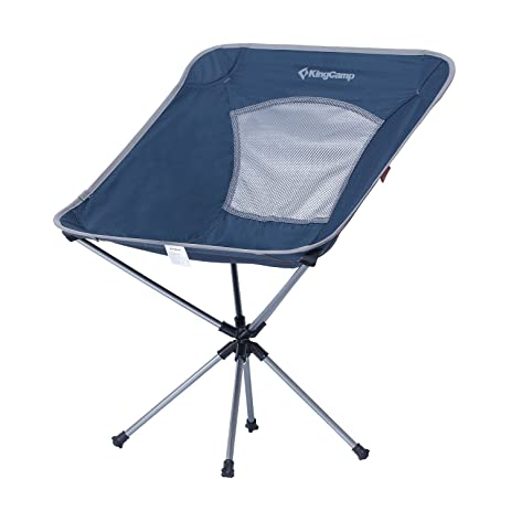 FLYZOE Swivel Camping Chair 360 Rotating Ultralight Aluminum Frame Compact  Collapsible Chair For Fishing Hiking Backpacking