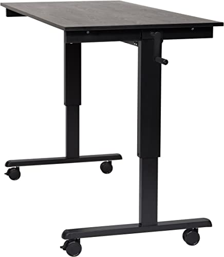 Luxor Furniture Crank Adjustable Stand Up Desk