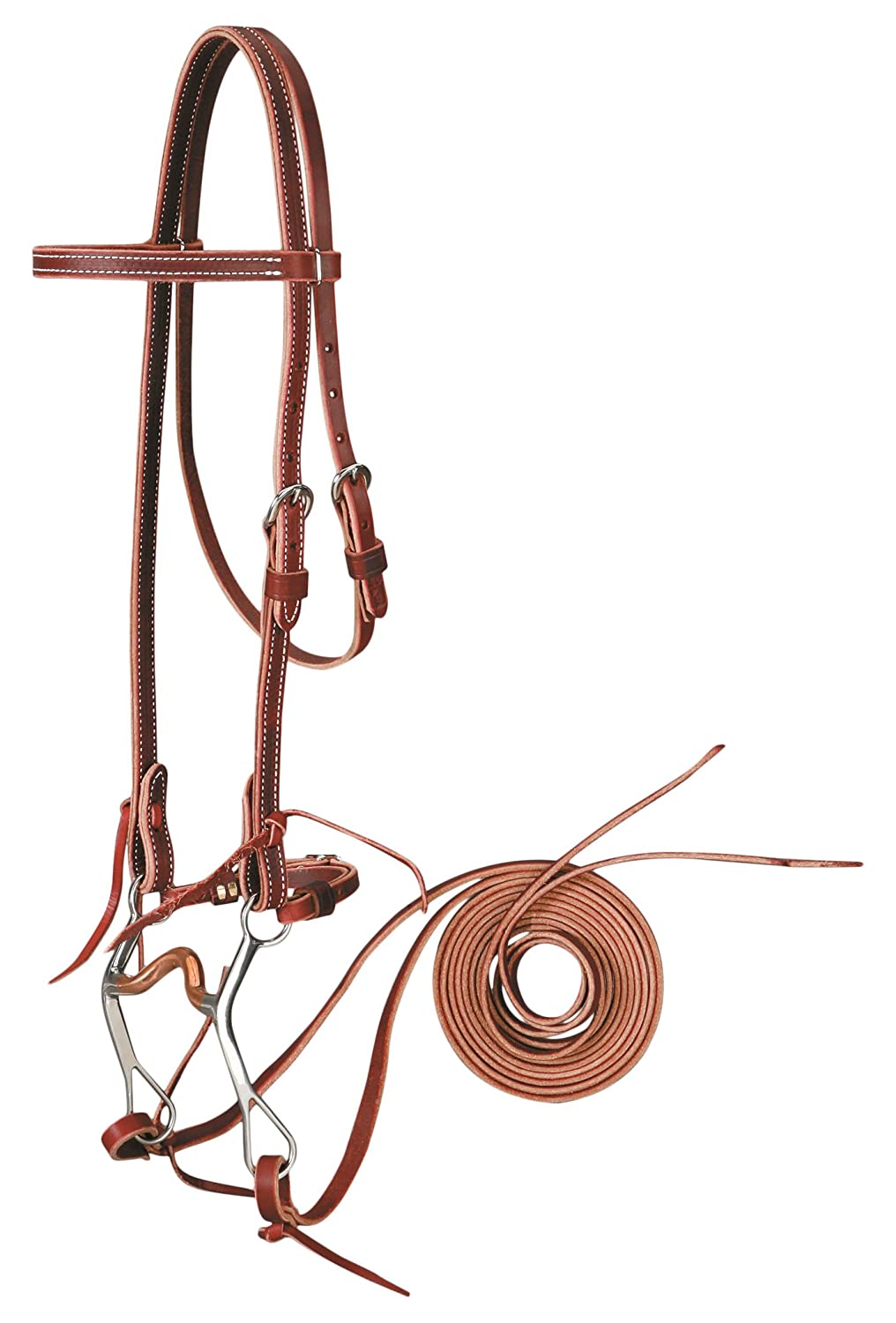 colorado Saddlery The 5-5037 Bridle with Curb Bit