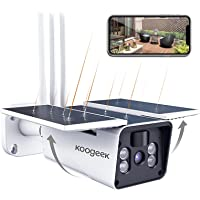 Koogeek WiFi 1080P Wireless Outdoor Security Camera with Night Vision