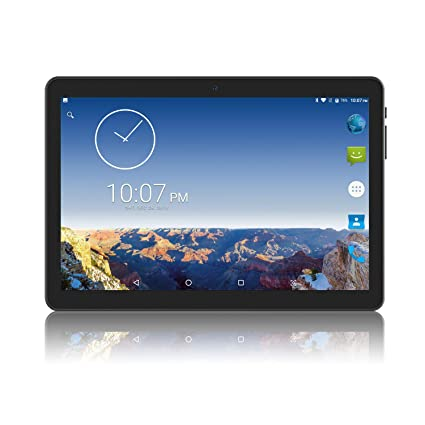 Tablet 10 Pulgadas, 2GB+32GB, 1280x800 IPS Llamada de Teléfono 10.1 Tablet Android 3G con Doble Ranura para Tarjetas SIM y Doble Cámaras, WiFi, ...
