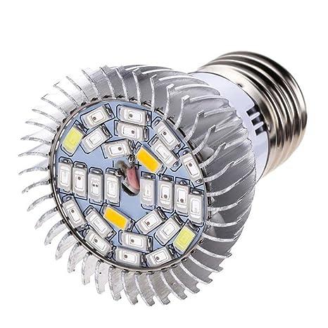 STRIR Bombilla para Crecimiento de Plantas Alta Potencia 28W 28 LED E27, Lámpara Luz para