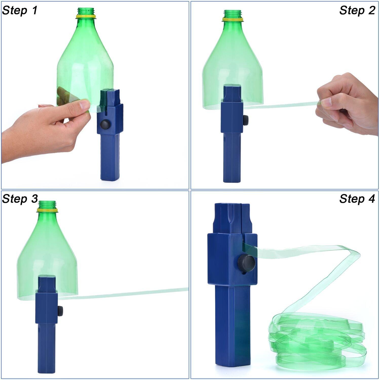 FIXM Plastikflaschen-Schneider, DIY Kreatives Flaschen-Seil ...