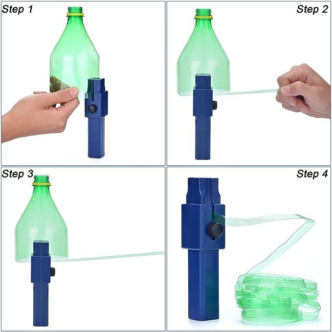 Cortador de Botellas de Plástico FIXM, Creativa Herramienta Hazlo Tú Mismo para Hacer Tiras de Botellas, Amigable con el Ambiente y Ahorrador de Energía, ...