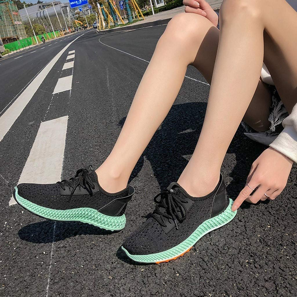 Moonker Women Sneakers Wide Width Support Walking Shoes Ladies Girls Mixedcolor Running Sport Round Toe Casual Shoes