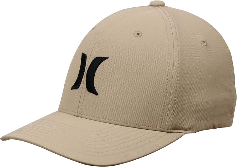Hurley Mens Dri-fit One /& Only Flexfit Baseball Cap