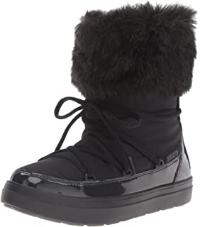 Femme De Graphic Bottes Neige Boot Lodgepoint Women Crocs Lace 4wTqf