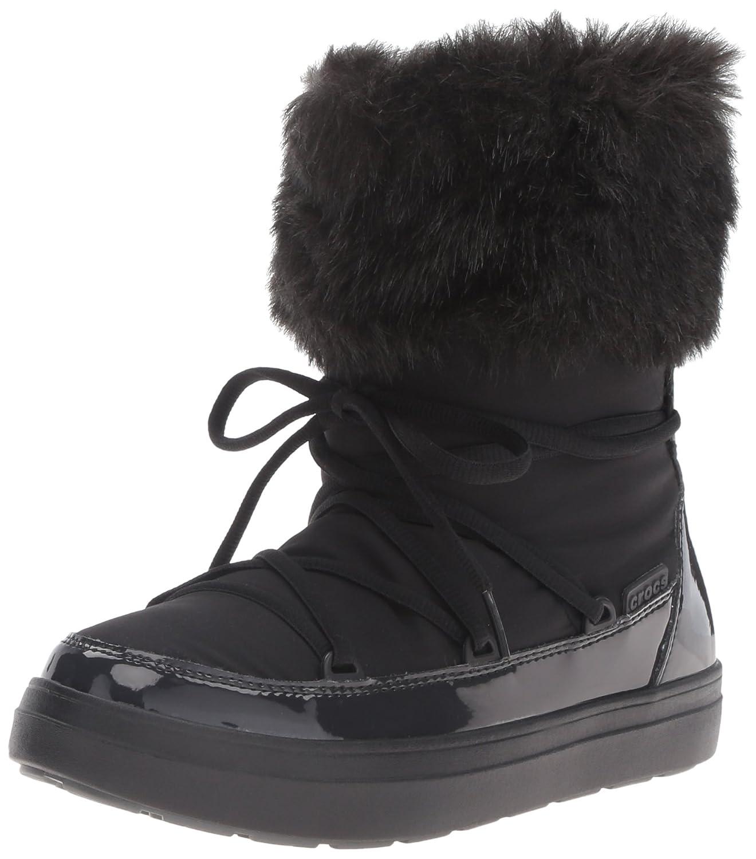 Crocs LodgePoint Lace Boot, Bottes LodgePoint de Neige Bottes Femme Boot, Noir (Black) a17776c - automaticcouplings.space