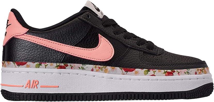 Nike Air Force 1 VF (GS), Zapatos de Baloncesto para Niñas: Amazon ...
