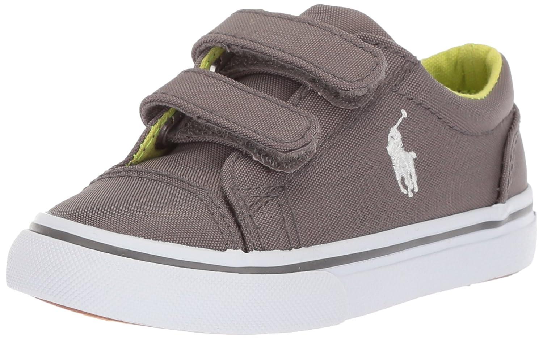Polo Ralph Lauren ユニセックスキッズ B074J91KT3 4 Medium US Toddler Grey Nylon Grey Nylon 4 Medium US Toddler