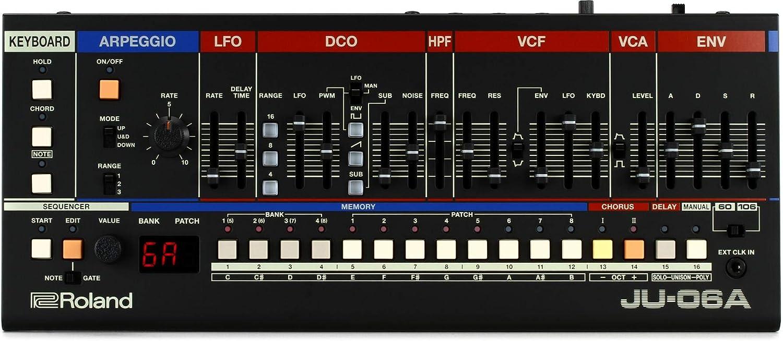 Roland K-25m Boutique Series Keyboard Unit Roland JU-06A Boutique ...