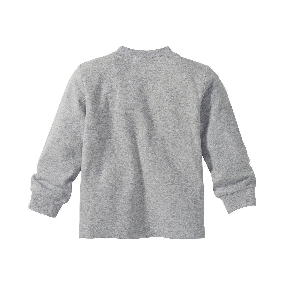 Bornino Schlafanzug lang Langarm-Shirt mit Druckkn/öpfen /& Hose mit elastischem Bund Pyjama f/ür Babys Reine Baumwolle Mehrfarbig