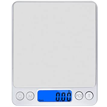 Precison Digital Cocina Escala Olrick 500 G x 0,01 G Smart Weigh – Báscula
