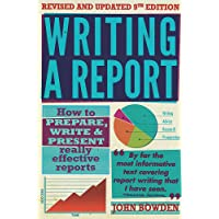 Writing a Report: 9th edition (William Lorimer)