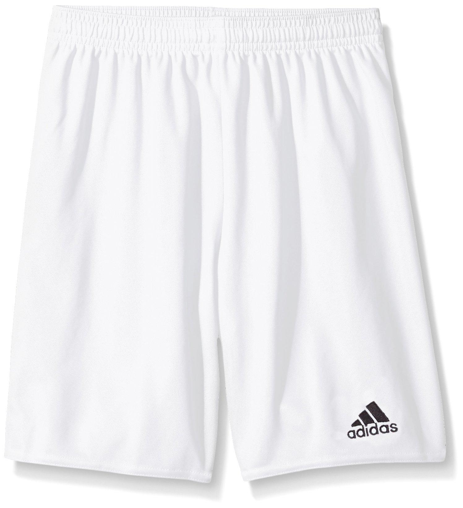 adidas Youth Parma 16 Shorts, White/Black, Medium
