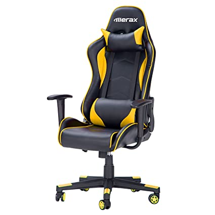 Merax Gaming Chair Yellow
