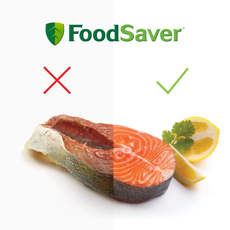 Foodsaver FFS015X-01 Envasadoras al vacío con cánula, Acero ...