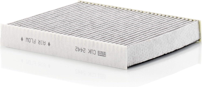 Original Mann Filter Innenraumfilter Cuk 2442 Pollenfilter Mit Aktivkohle Für Pkw Auto