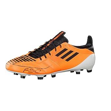 sports shoes cdb2d fbb78 adidas F50 Adizero TRX FG (Lea) Zapatos de fútbol con Tacos, para Mujer  Naranja Talla44 Amazon.es Deportes y aire libre