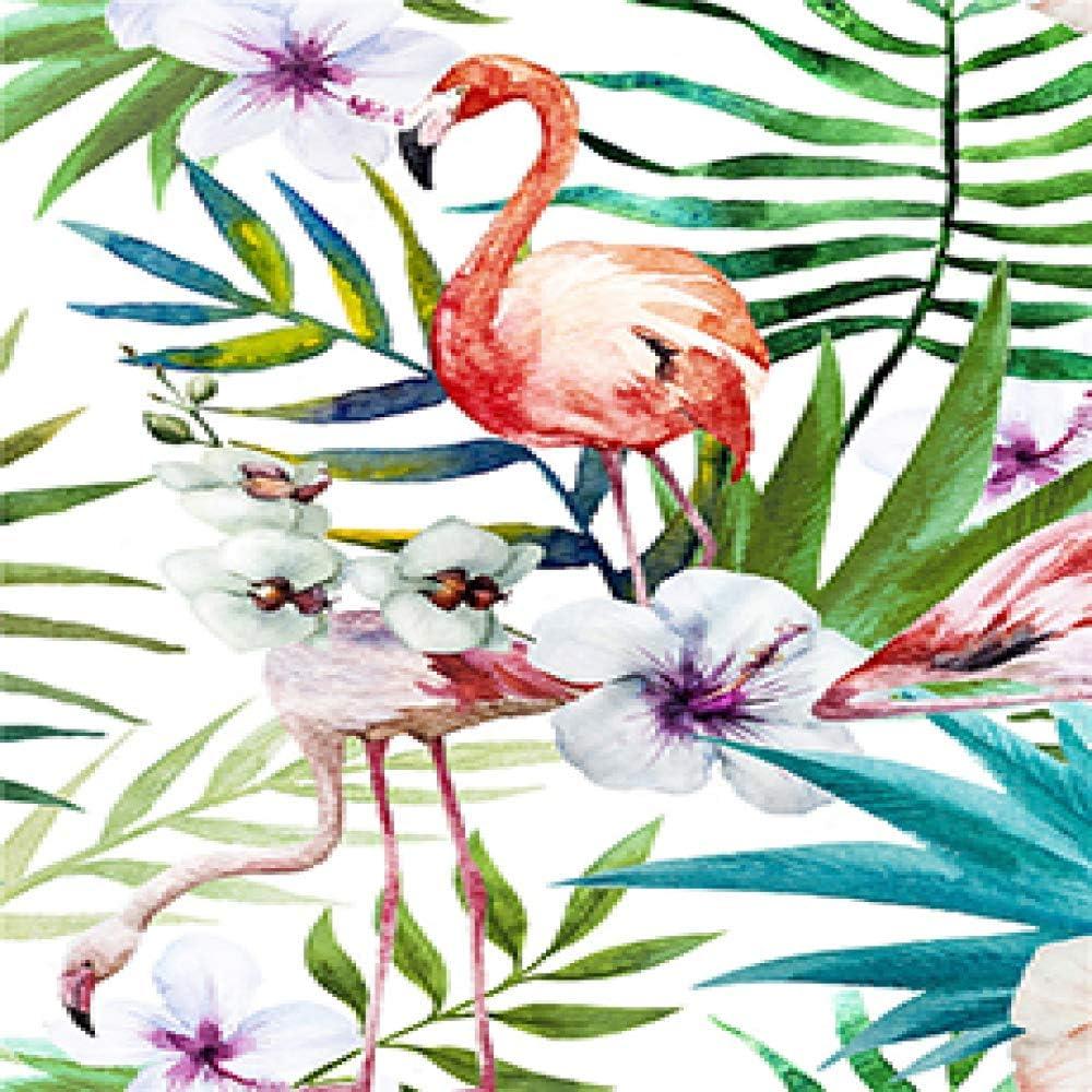 Geiqianjiumai Moderno Tropical Tropical Acuarela Plantas ...